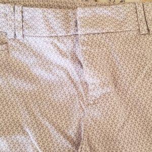 Patterned CK pants